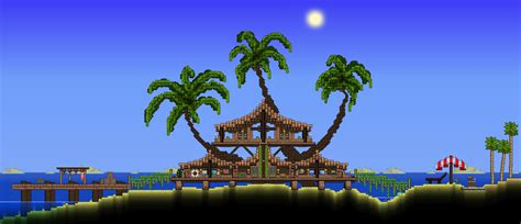 terraria tree house palm treehouse terraria