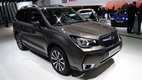 subaru forester interior 2017 2017 subaru forester 2 0xt awd six exterior and