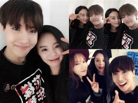 bts v siblings jhope v taehyung hope sister bts pinterest vs