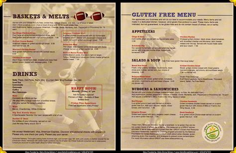 grill menu menus 187 davina s cabo grill cantina