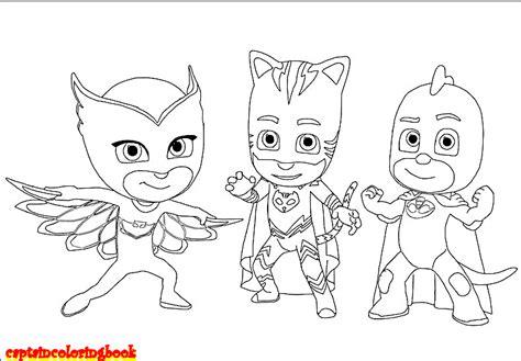 Pj Masks Coloring Page Disney | disney pj masks coloring pages free download coloring page