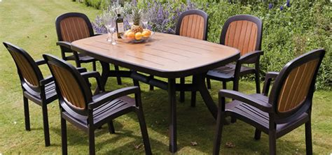 The Garden Table by Garden Furniture Material Type Guide The Uk S No 1