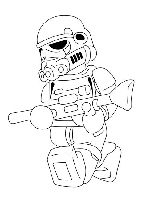 stormtrooper coloring coloring pages