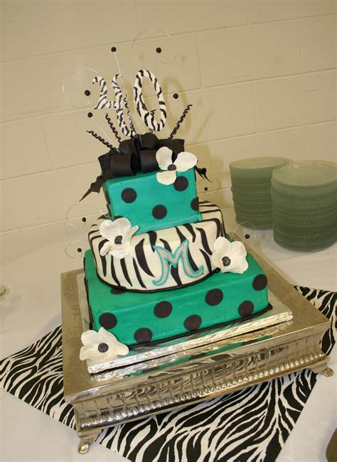 3 Tier Cake Decorating Ideas by 3 Tier Square 40th Birthday Cake Cakecentral