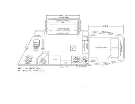 horse trailer living quarter floor plans pin by equine rv on living quarter floor plans pinterest