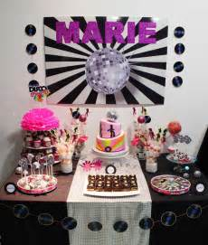 Disco birthday party ideas photo 1 of 10 catch my party