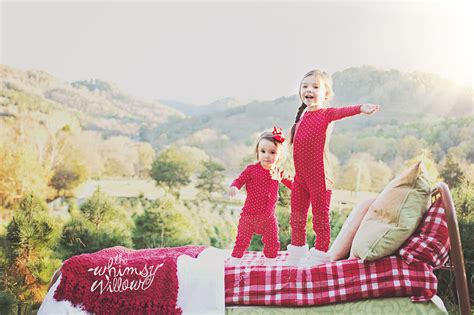 the whimsy willow pj christmas tree farm mini preview