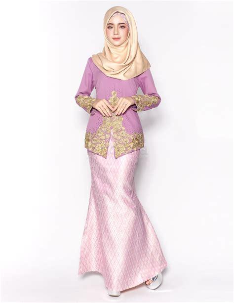 Baju Kurung Kuning Purple baju kurung moden sovella purple pink lovelysuri