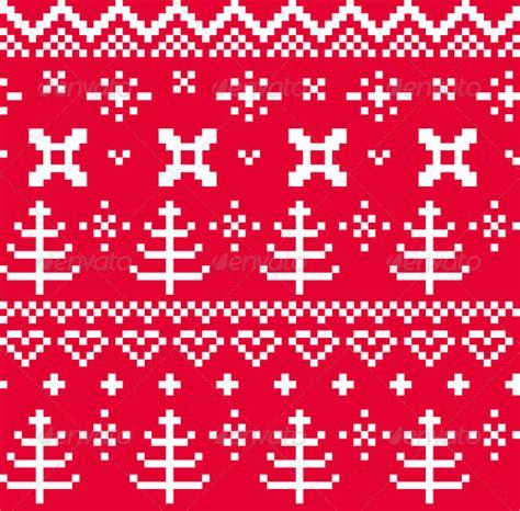 jumper pattern vector christmas norwegian seamless knitting pattern by