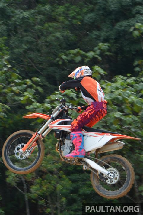Ktm Malaysia 2017 Ktm Motocross Bike Range Launched In Malaysia Six