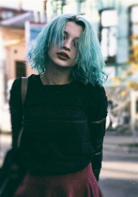 Blue hair ?   image #3814583 by loren@ on Favim.com