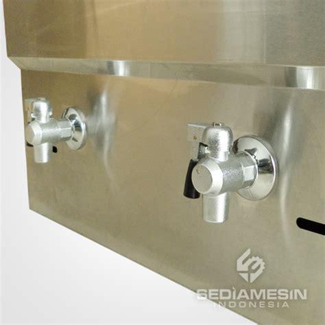 Alat Penggoreng Gas Fryer Gas 2 Basket Ta Berkualitas gas fryer thermostat fomac fry g172