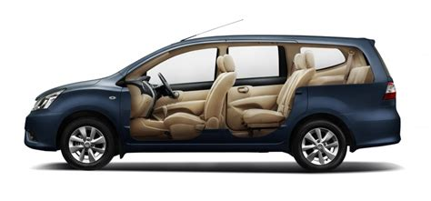 Cermin Nissan Grand Livina nissan grand livina facelift introduced from rm87k image 200854