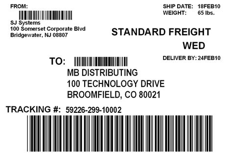 shipping label template brotherusa your source for home and office product