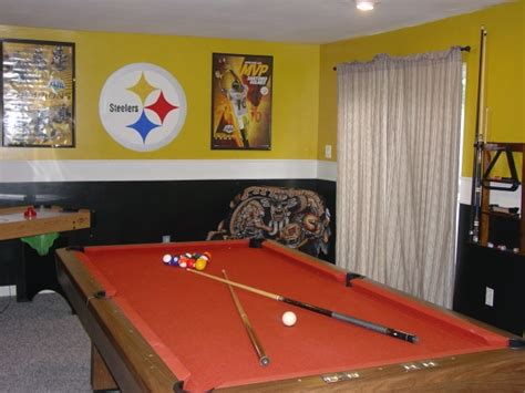 Steelers Bedroom Decor by Cave Steelers Room Images Home Ideas On Nfl Pittsburgh