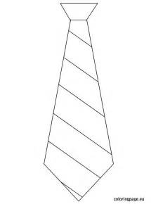 tie coloring page s day template tie s day