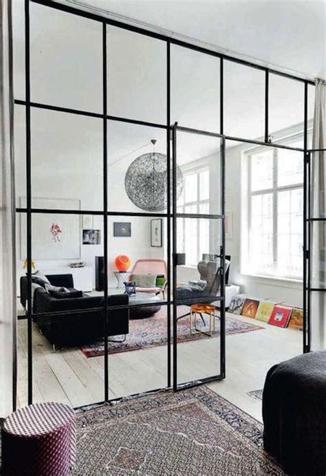 glass room divider fabriks eller industrif 246 nster som en av inredningen