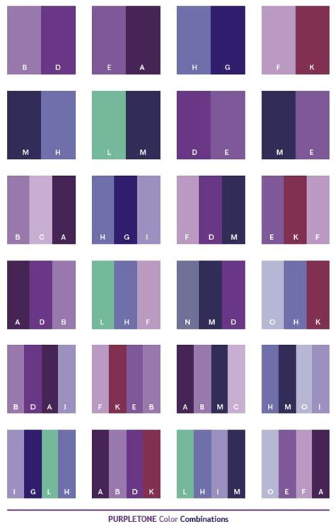 Colors That Look Good With Purple | best 20 purple color combinations ideas on pinterest