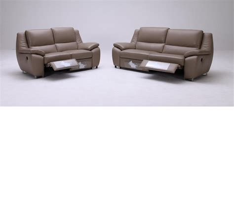 contemporary leather reclining sofa dreamfurniture com k 1339 modern leather sofa set with