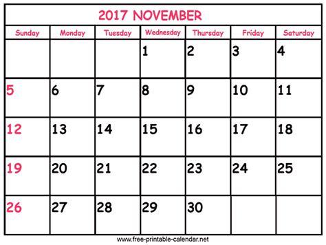Calendar 2017 Nov Nov 2017 Calendar Images Search