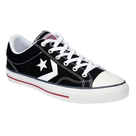 Sepatu Converse Ox Black Unisex converse converse plyr ox black white z26 144146c unisex trainers converse from