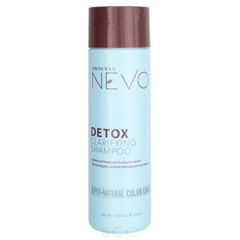 Nevo Detox Clarifying Shoo Ingredients by Pravana Nevo Detox Clarifying Shoo Care Choices