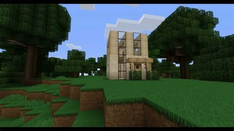 minecraft minimalist house design youtube