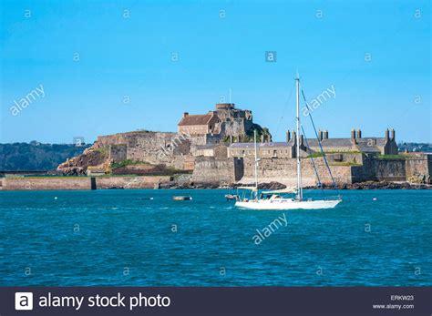 Jersey Castle elizabeth castle stockfotos elizabeth castle bilder alamy