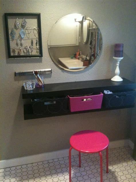 Vanity Shelves Bedroom by Best 25 Dresser Alternative Ideas On