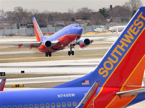 southwest airlines grounds 128 planes due to missed inspections cbs news