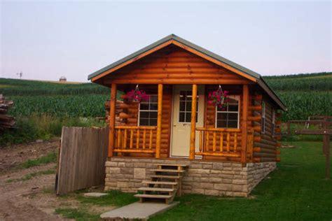 trophy amish cabins llc standard shown