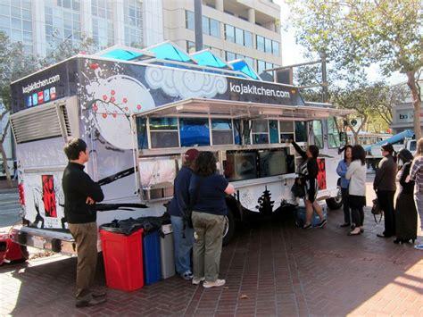 Koja Kitchen Food Truck by Meet The Koja Kitchen Food Truck And Its 5 Koja Sandwich