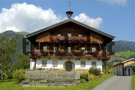 small traditional house design in tirol austria traditional colourful decorated farmers house in koessen