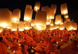 buddhist monks pray for new year in thailand 2 chinadaily