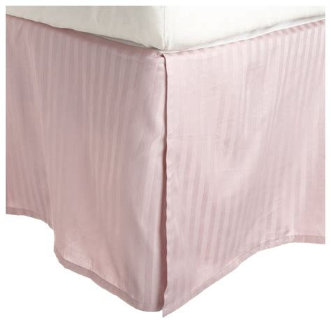 what is a bed skirt striped 15 quot drop length 100 egyptian cotton bed skirt 300