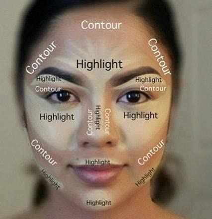 Contour Make and easy ways to contour with make up everyday 30