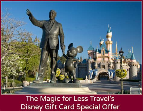 Deals On Disney Gift Cards - disneyland resort specials offers and discounts