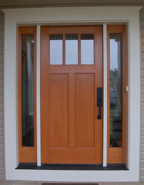 Quaker Craftsman Front Door Custom Home Exteriors Craftsman Exterior Doors