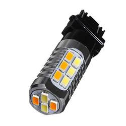 Led Car Bulbs Resistor Buy White 3157 3757 Switchback Led Turn Signal Light