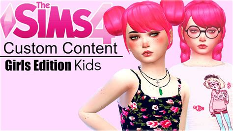 sims 4 custom content toddler sims 4 kid hair cc newhairstylesformen2014 com