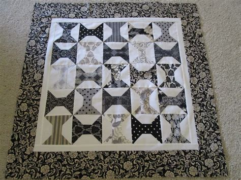 Moda Black Dress Quilt Pattern by Cozy Quilts Schnibbles Gentle Quilt