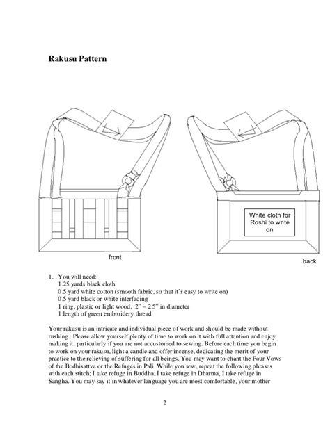 pattern making slideshare rakusu pattern