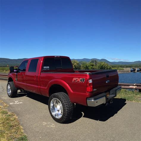 Ford F250 Lifted by 2014 Ford F250 Lariat Crew Cab 6 7l Diesel Lifted For Sale