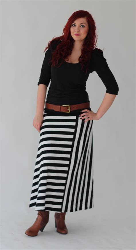 black pattern maxi skirt black and white flared skirt maxi skirt by