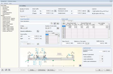 Online 3d Design Program craneway craneway girder design acc to eurocode 3