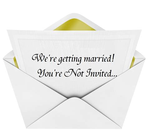 Wedding Announcement To Those Not Invited by An Important Psa From The Of All Things Southern