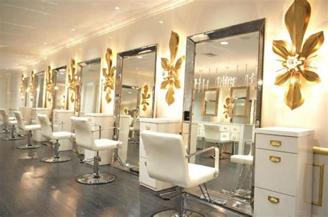 to decorate a hair salon in excellent way luxury hair