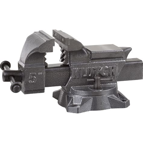 northern tool bench vise klutch heavy duty bench vise 5in jaw width northern