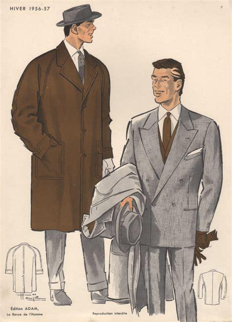 Fashion Boy L 57 A Bs3111 vintage fashion print s fashions 1950s