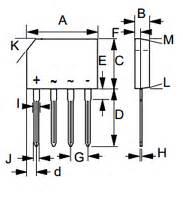 diodes kbp206g kbp206g liteon technology datasheet pdf datasheetbank